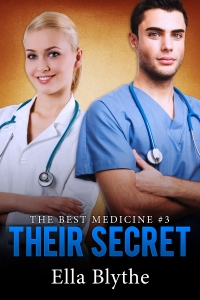 The sizzling third and final book in THE BEST MEDICINE trilogy has finally arrived!  Not everyone is as happy as Brynn about the blossoming affair between the young nurse and her boss, the most eligible bachelor at Mercy Hospital. She knew she'd been up against some stiff competition for the attention of Dr. Sam Hitchens, but she had no idea what lengths a woman scorned would go to in an attempt to sabotage everything.  After the surprising proposition in HIS BIDDING, and the start of a scorching series of trysts in HER DESIRE, find out what happens between Brynn and Sam when a jealous colleague learns THEIR SECRET...and threatens to end things between the new lovers even before they can begin.
