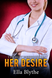 "Hotter. Longer. Fantasy come to life. Find out what happens after Brynn decides to do HIS BIDDING...  Still grappling with the tantalizingly unorthodox request her boss made of her, Brynn is trying to keep herself together even as she has to work alongside him every day. Dr. Sam Hitchens has put her impossible position - one she doesn't even want to turn down - and somehow Brynn must not only get through the weeks leading up to their hospital's annual charity ball, but also be ready for anything and everything that might happen on the night itself.  Nothing she could have imagined - or hoped for - will prepare Brynn for the impact the bachelor auction will have on her life. Doing her boss's bidding and winning a night with the sexy Chief of Staff could cost her so much...and is she willing to pay that price?  Welcome to HER DESIRE, the second book in ""The Best Medicine"" serial. Take a seat at the head table and watch the drama unfold at the Mercy Hospital Charity Ball, as nurse Brynn sheds her scrubs, dresses to the nines, and puts everything on the line at Sam's behest. Her deepest, hottest fantasies may very well come true on this magical night...but what happens when morning comes?"